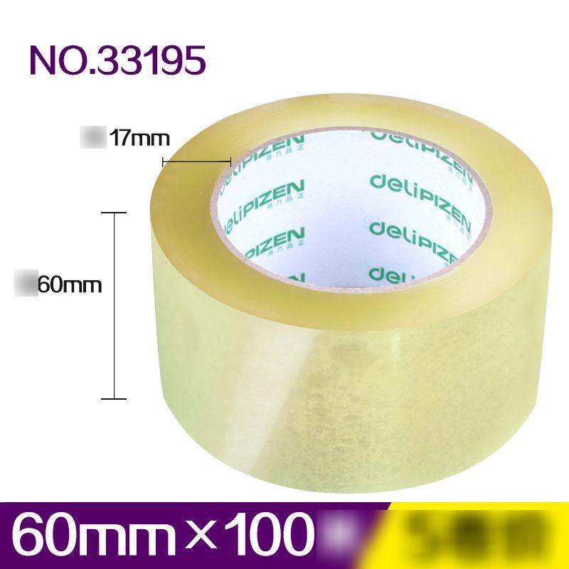 Effective Transparent Adhesive Tape 4.5cm 6cm High Strength