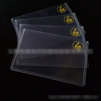 Anti-static Hard Rubber A4 Card Cover