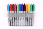 24 Color Permanent Markers