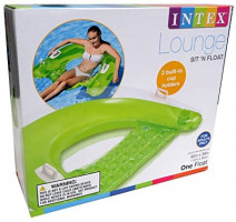 "Intex Sit N Float Inflatable Lounge, 60"" X 39"", 1 Pack (Colors May Vary) (2): Toys & Games"