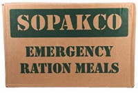 SOPAKCO EMERGENCY MRE Ration Box – Meal Ready to Eat Pack – 16 pcs Fully Cooked Meals for Emergencies – Clear, Strong and Durable Packaging – 5 Years Extended Shelf Life – 6 Menu Varieties/Box: Home Improvement