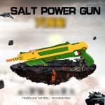 Salt Power Gun Toy for Kids