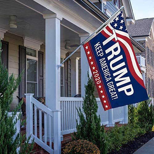 pinata Trump 2020 Flags 3x5 Ft Double Sided, Donal Trump Keep America Great House Flag, American President Election Yard Banner with Brass Grommets Outdoor Decor : Garden & Outdoor