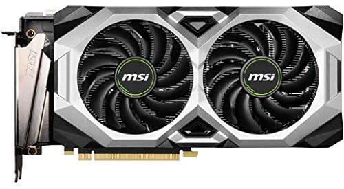 MSI Gaming GeForce RTX 2080 Super 8GB GDRR6 256-Bit HDMI/DP Nvlink Torx Fan Turing Architecture Overclocked Graphics Card (RTX 2080 Super Ventus XS OC) (Renewed): Computers & Accessories