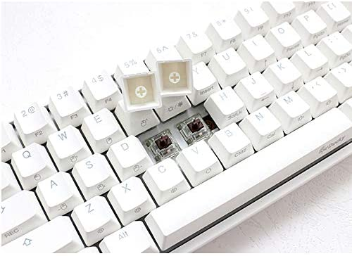 Ducky one 2 Mini White - Cherry MX Blue Switch - Version 2 (Year of The Rat Spacebar): Computers & Accessories