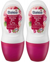 Balea 2x50 ml Aluminum-free Roll-On Deodorant BLOOMY KISS (pack of 2) | Germany : Beauty