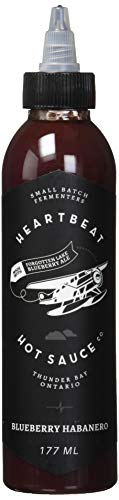 Heartbeat Hot Sauce - Blueberry Habanero : Grocery & Gourmet Food