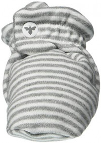 Burt's Bees Baby Unisex Baby Booties, Organic Cotton Adjustable Infant Shoes: Clothing