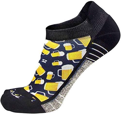 Zensah Limited Edition No-Show Running Socks - Anti-Blister Comfortable Moisture Wicking Sport Socks for Men and Women : Clothing