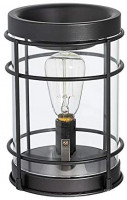 Edison Bulb Electric Candle Warmer with Timer | Plug in Fragrance Warmer for Scented Wax Melts, Cubes, Tarts | Air Freshener Set for Rustic Home Décor, Office, Gifts: Home & Kitchen