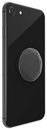 PopSockets PopGrip - Expanding Stand and Grip with Swappable Top - Metallic Diamond Black