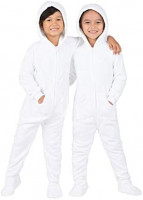 Footed Pajamas - Family Matching Hoodie Onesies | Chenille One Piece Boys, Girls, Men, Women Pjs and Pets Sweaters: Clothing