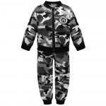 Children Boy Suit Thick Camouflage Clothing  Children's Clothing Spring And Autumn Two-piece Set