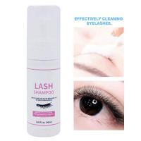 Eyelash Extension Shampoo Professional Eye Wash for Eyelash Cleanser Shampoo Natural Lashes - Mascara Remover 50ml : Beauty