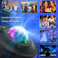 SEATANK Galaxy Projector Star Project 3 in 1 Projector Night Light with Bluetooth remote control Hi-Fi Speaker for Kid's Bedroom/Game Rooms/Home Theatre/Party Birthday Gifts.: Musical Instruments