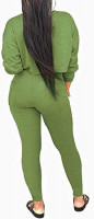 kaimimei 2 Piece Outfits for Women - Sweatsuit Tracksuit Long Sleeve Sweatshirt and Long Pants Set Sports Jumpsuit at Women's Clothing store