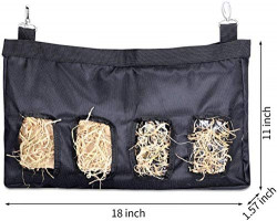 GZDDG Rabbit Hay Bag, Guinea Pig Hay Feeder, Hay Bag Hanging Feeder Sack for Rabbit Guinea Pig Chinchilla Hamsters Small Animals, Pet Essential Feeder Storage Bag : Kitchen & Dining