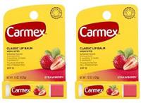 Carmex Lip Balm Stick, Strawberry (2): Health & Personal Care