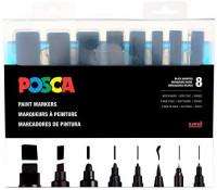 Posca Acrylic Paint Marker, Black: Arts, Crafts & Sewing