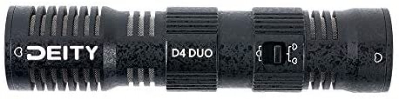 Deity Microphones V-Mic D4 DUO Dual head Cardioid Broadcast on-camera microphone video microphone : Electronics