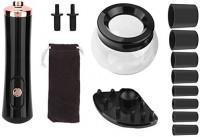Allstarry Nail Lacquer Shaker Portable Liquid Evenly Machine Gel Polish Shaking Mixer for Eyelash Glue Nails Polish Tattoo Ink (Black): Health & Personal Care
