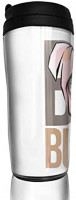 Bad Bunny Tumbler Stainless Steel Travel Coffee Mug with Lids Double Wall Insulated Coffee Cup for Home, Office, Travel Great.: Home & Kitchen