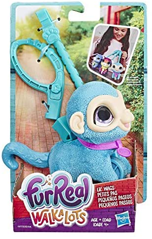 Furreal Walkalots Lil' Wags Monkey Toy, Ages 4 & Up: Toys & Games