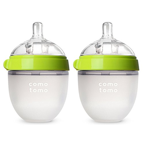 Comotomo Baby Bottle, Pink, 5 Ounce (2 Count) : Comotomo Slow Flow : Baby