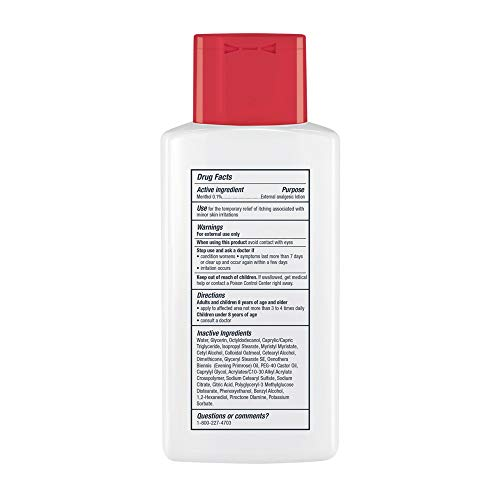 Eucerin Skin Calming Itch Relief Lotion - Full Body Lotion for Dry, Itchy Skin - 6.8 fl. oz. Bottle (Pack of 3) : Body Lotions : Beauty