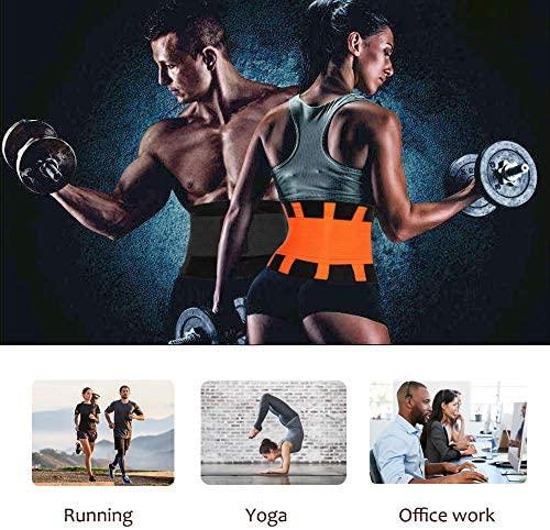 Waist Trainer Belt for Women & Man - Waist Cincher Trimmer Weight Loss Ab Belt - Slimming Body Shaper Belt: Clothing
