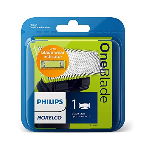 Philips Norelco OneBlade Replacement Blades, 1 count, QP210/80: Beauty