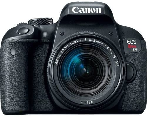 Canon EOS Rebel T7i DSLR Camera with 18-55mm Lens with 32GB Memory Card, Premium Soft Case, and More - Starter Bundle (Renewed) : Camera & Photo