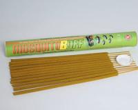 MosquitoBOff Natural Mosquito Repellent Incense Sticks for Outdoors - CITRONELLA Essential Oil - DEET Free (12 Long Burn Sticks) : Garden & Outdoor