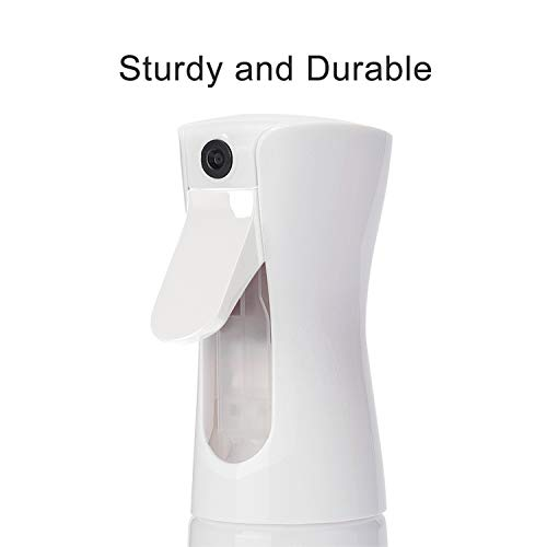 BOOMJOY Spray Bottle for Cleaning Solutions, 2 Pack 5.5 oz Empty Hair Spray, Ultra Fine Continuous Water Mister Spraying for Hair Styling, Plants Watering, Cleaning, DIY Bottles : Beauty