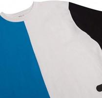 Fila Men Big and Tall Print Crewneck T Shirt Men Short Sleeve Shirts Men