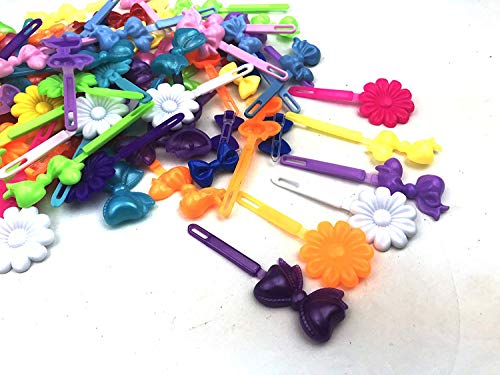 Crispy Collection Hair Accessories for Girls Assorted Hair Clips Selection Birthday Gifts for Girls (24 Pieces) : Beauty