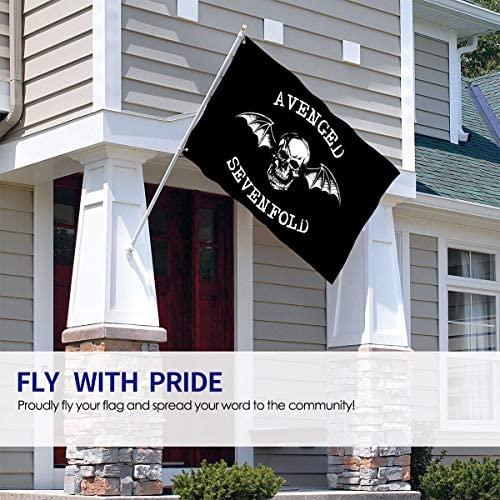 Yunnanzhelan Avenged Sevenfold Garden Flag Single-Sized Print Decorative Holiday Home 3x5 Ft Flag : Garden & Outdoor