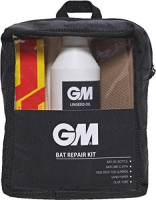 Gunn & Moore Cricket Sports Bat Repair (Oil, Cloth, Toe Guard, Sand Paper, Glue) Kit : Sports & Outdoors