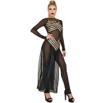 European And American Sexy Halloween Costume Greek Goddess Cleopatra Costume Cos Prom Witch Game Uniform-