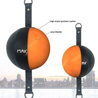 MaxxMMA Double End Ball, Pump Included : Sports & Outdoors