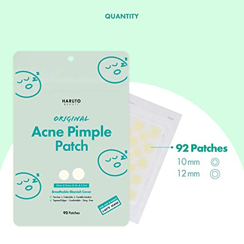 Haruto Acne Pimple Patch - Variety Pack of 4: Beauty