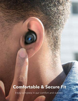 Wireless Earbuds, TaoTronics Bluetooth 5.0 Headphones SoundLiberty 77 Bluetooth Earbuds IPX7 Waterproof Hi-Fi Stereo Sound Open to Pair Free to Switch Single/Twin Mode with 20H Playtime: Electronics