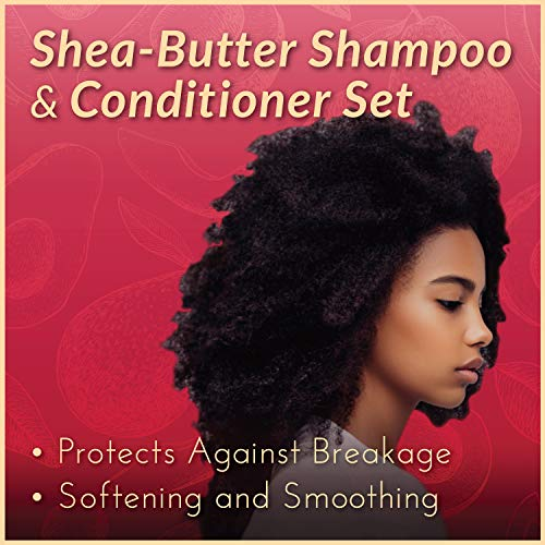 ArtNaturals Shea-Butter Avocado and Lychee Shampoo – (16 Fl Oz / 473ml) – Moisturizing Silk – Nourishing For Dry and Damaged Hair – Sulfate-Free and Cruelty-Free – Coconut, Aloe Vera and Rosehip : Beauty