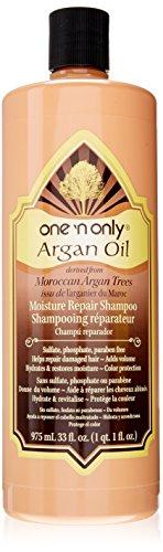 One 'n Only Argan Oil Moisture Repair Shampoo, 975ml(33oz), 1QT : Standard Hair Shampoos : Beauty