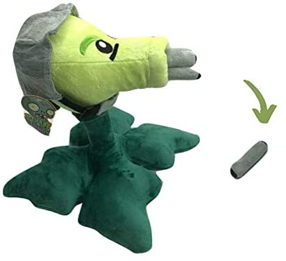 Plants vs Zombies Plush Baby Toy Stuffed Soft Doll for Kids (Gatling Peashooter): Toys & Games