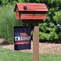 Bxx Trump - Trump is My President Garden Sign, Vertical Four Seasons Garden Decoration Sign, Garden Welcome Garden Decoration : Garden & Outdoor