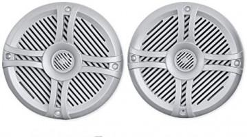 """(4) Rockville RMSTS65S 6.5"""" 1600w Waterproof Marine Boat Speakers 2-Way Silver: Electronics"""