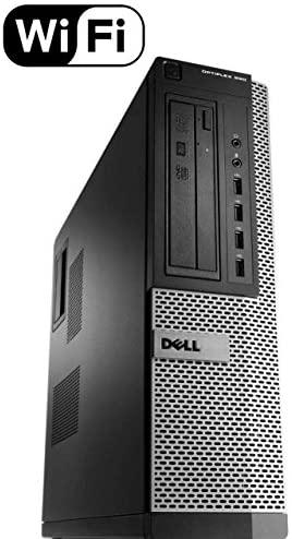 Dell Optiplex 990 SFF Flagship Premium Business Desktop Computer (Intel Quad-Core i5-2400 up to 3.4GHz, 16GB RAM, 2TB HDD, DVD, WiFi, VGA, DisplayPort, Windows 10 Professional) (Renewed): Computers & Accessories