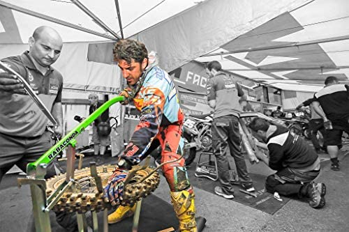 Rabaconda Motorcycle Tire Changer Machine - Fastest Tire Bead Breaker Among Motorcycle Tire Changing Tools: Automotive