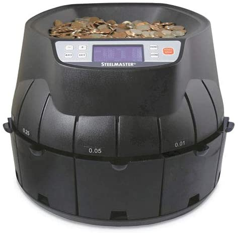 Coin Counter/Sorter, Pennies Through Dollar Coins : Office Products